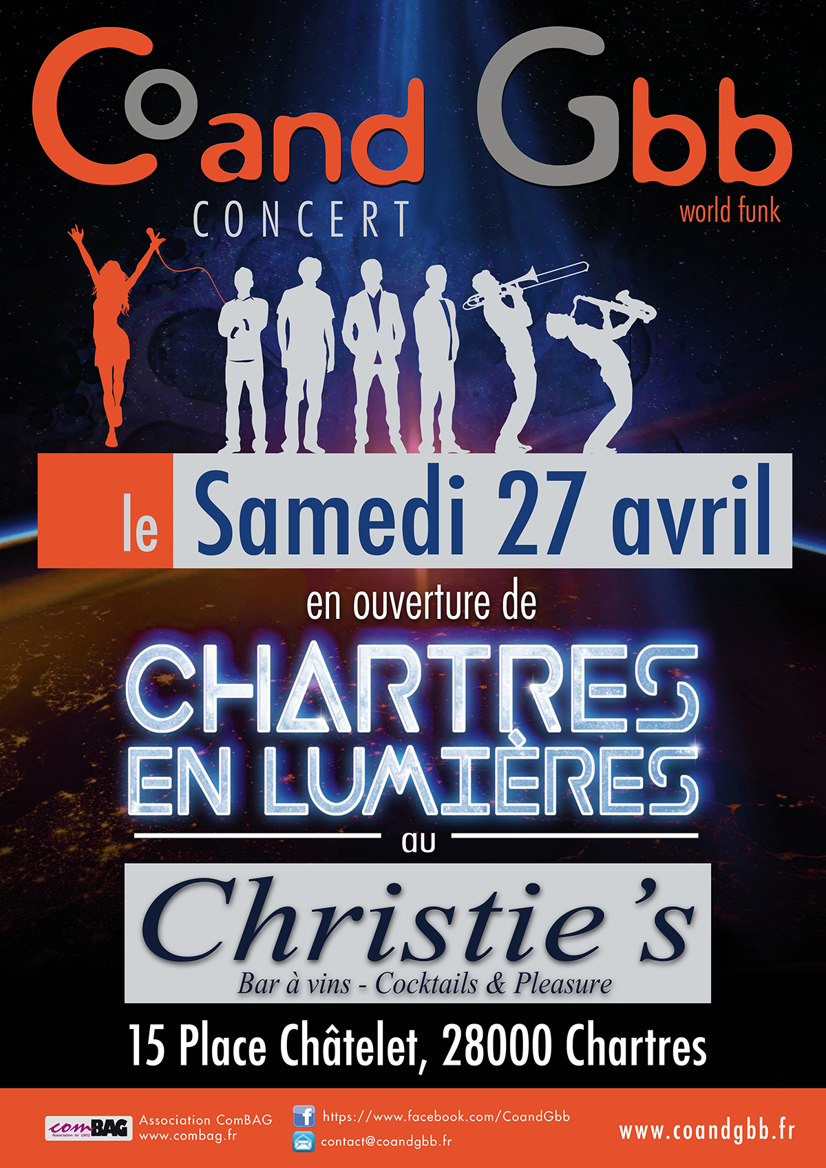 Concert 27 avril 2019 - CHRISTIE'S / CHARTRES